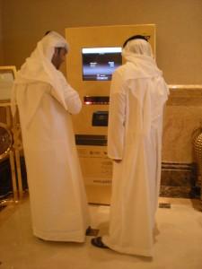 Habits masculins dans les Emirats