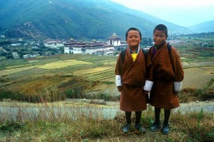 Enfants en Gho